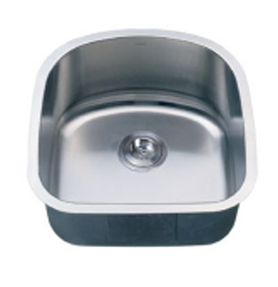 C-Tech-I Linea Imperiale Acaia LI-400 Single Bowl Stainless Steel Sink