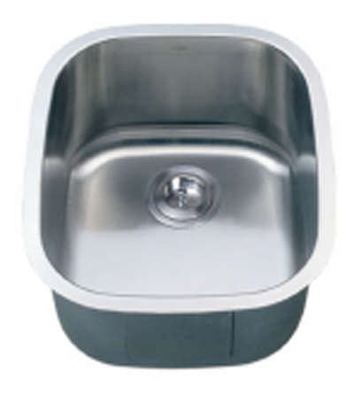 C-Tech-I Linea Imperiale Cirene LI-500 Single Bowl Stainless Steel Sink