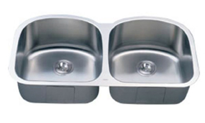 C-Tech-I Linea Imperiale Lutecia LI-600 Double Bowl Stainless Steel Sink