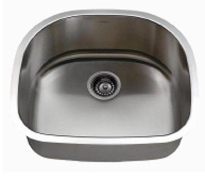 C-Tech-I Linea Imperiale Patras LI-800-M Single Bowl Stainless Steel Sink