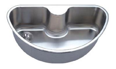 C-Tech-I Linea Imperiale Imperio LI-1000 Single Bowl Stainless Steel Sink