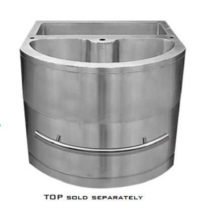 """C-Tech-I Linea Amano Imperio LI-1000-CAB-1 Stainless Steel 36"""" Cabinet Base"""