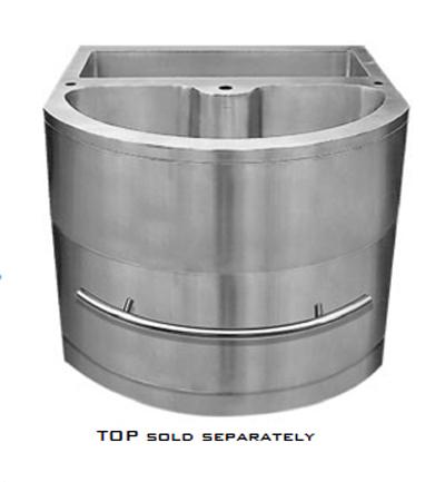 C-Tech-I Linea Amano Imerio LI-1000-Top-1 Double Bowl Stainless Steel Sink