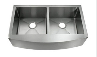 C-Tech-I Linea Amano Isernia LI-1200 Double Bowl Stainless Steel Sink
