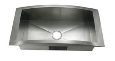 C-Tech-I Linea Amano Lodi LI-1400 Single Bowl Stainless Steel Sink