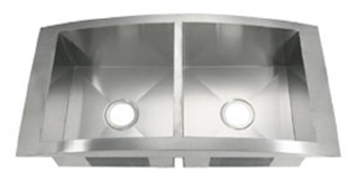 C-Tech-I Linea Amano Biella LI-1500 Double Bowl Stainless Steel Sink