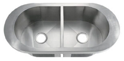 C-Tech-I Linea Amano Viano LI-1700 Double Bowl Stainless Steel Sink