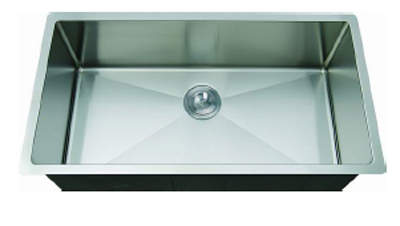 C-Tech-I Linea Amano Emilia LI-1900-R Single Bowl Stainless Steel Sink