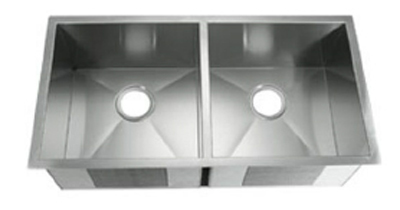 C-Tech-I Linea Amano Varsi LI-2000 Double Bowl Stainless Steel Sink