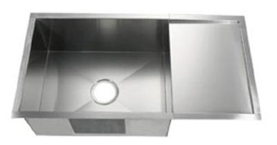 C-Tech-I Linea Amano Nogara LI-2100-DB Single Bowl Stainless Steel Sink