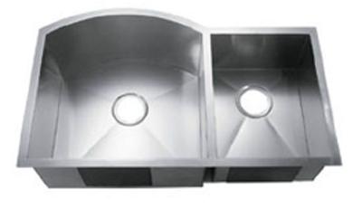 C-Tech-I Linea Amano Murlo LI-2200 Double Bowl Stainless Steel Sink