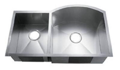 C-Tech-I Linea Amano Murlo LI-2200-D Double Bowl Stainless Steel Sink