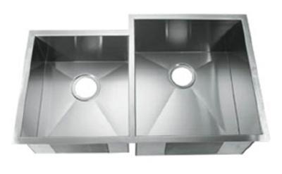 C-Tech-I Linea Amano Citerna LI-2300-D Double Bowl Stainless Steel Sink