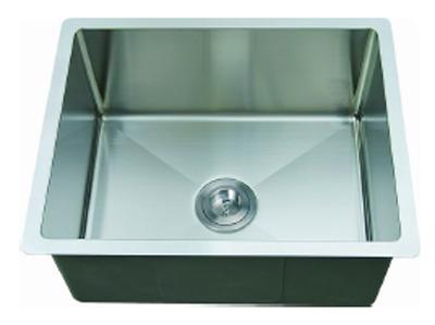 C-Tech-I Linea Amano Trevi LI-2900-R Single Bowl Stainless Steel Sink