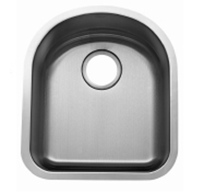 C-Tech-I Linea Beoni Bolseno LI-UK-S100 Single Bowl Stainless Steel Sink