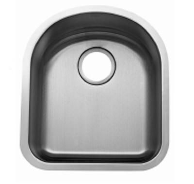 C-Tech-I Linea Beoni Bolseno LI-UK-S100 Single Bowl Stainless Steel Sink