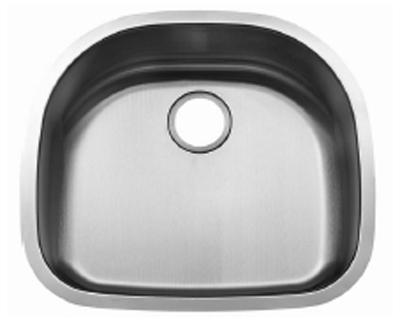 C-Tech-I Linea Beoni Cabo LI-UK-S300 Single Bowl Stainless Steel Sink