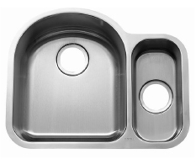 C-Tech-I Linea Beoni Valencia LI-UK-S400 Double Bowl Stainless Steel Sink
