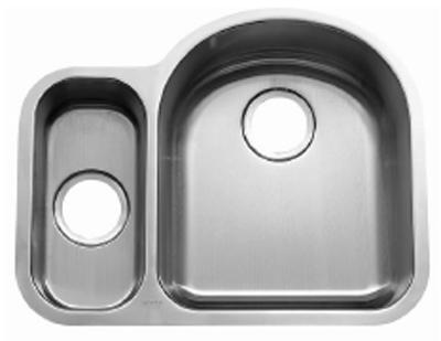 C-Tech-I Linea Beoni Valencia LI-UK-S400-D Double Bowl Stainless Steel Sink