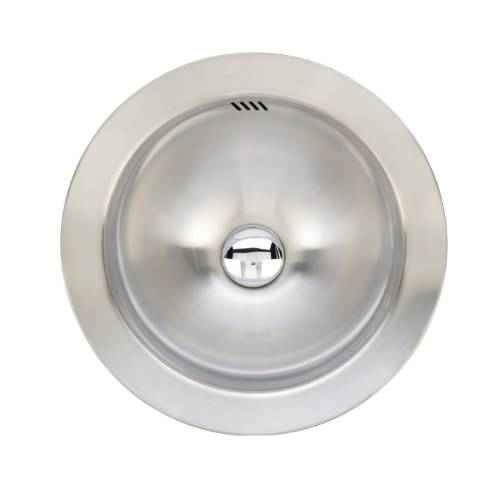Wells Sinkware 20 Gauge Single Bowl Above Counter Stainless Steel Kitchen/ Bar Sink Package JZA1616-6-1