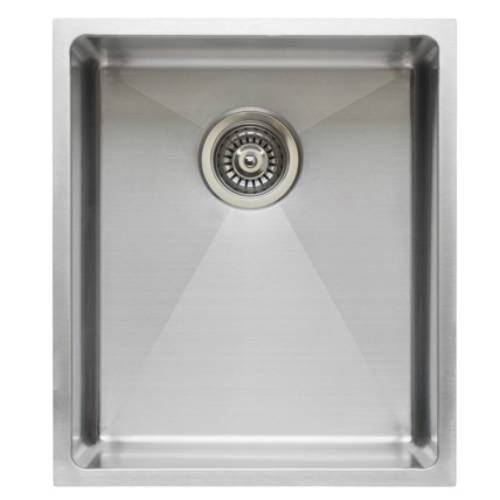 Wells Sinkware Commercial Grade 16 Gauge Handcrafted Single Bowl Undermount Stainless Steel Kitchen Sink Package CSU2120-9-1