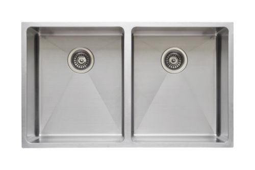 Wells Sinkware Commercial Grade 16 Gauge Handcrafted Single Bowl Undermount Stainless Steel Kitchen Sink Package CSU3220-10-1