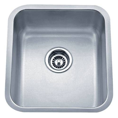 Wells Sinkware 18 Gauge Undermount Single Bowl Stainless Steel Kitchen Sink Package SSU1618-8-1