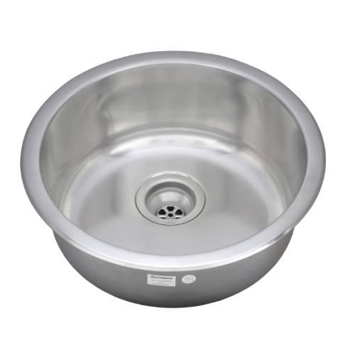 Wells Sinkware 18 Gauge Single Bowl Undermount Stainless Steel Kitchen/ Bar Sink JZU1919-8