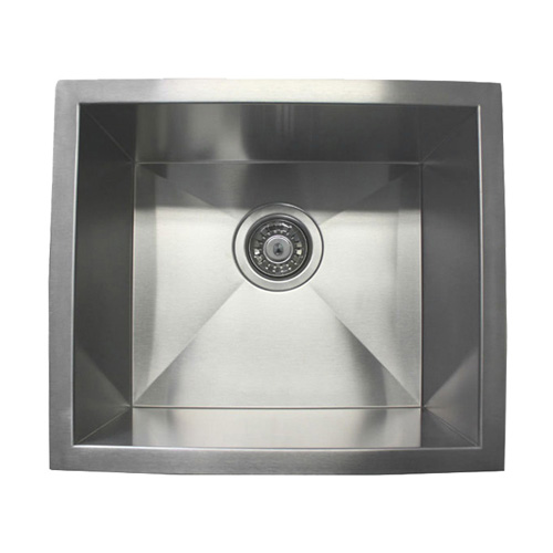 """17"""" Stainless Steel Undermount Kitchen Bar Sink WC12S1715"""