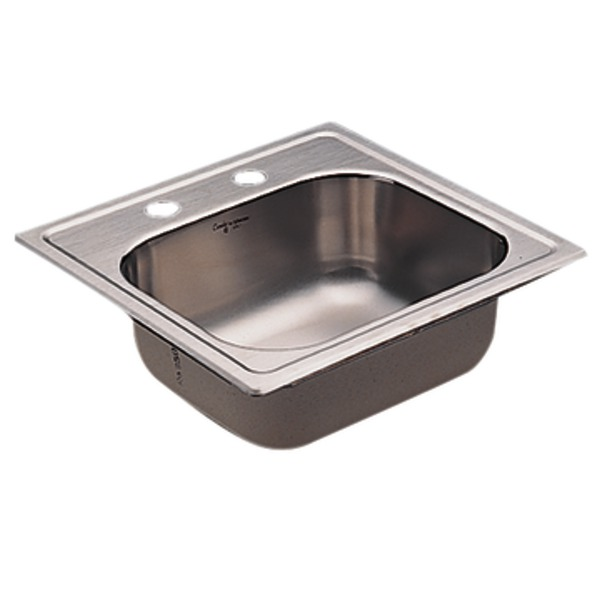 moen stainless steel kitchen sinks moen 22241 camelot stainless steel 20 single bowl 9286