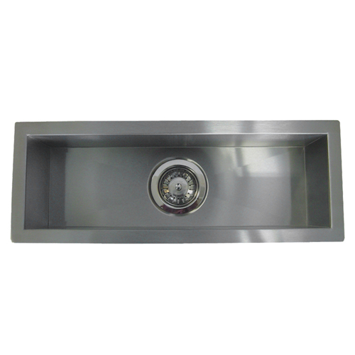 """32"""" Stainless Steel Undermount Kitchen Bar Sink WC12S3208"""