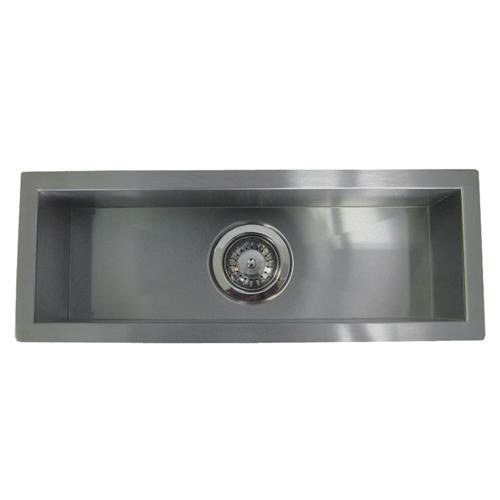 """23"""" Stainless Steel Undermount Kitchen Bar Sink WC12S2308"""