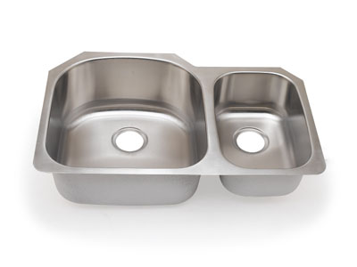 Suneli SM3121L Undermount Double Bowl Stainless Steel Sink