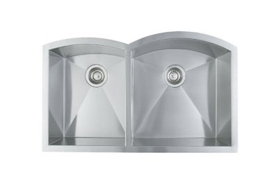 Blanco Arcon Undermount 1-3/4 Reverse Double Bowl Sink