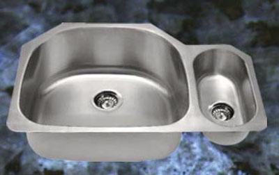 Suneli SM3221-R Undermount Double Bowl Stainless Steel Sink