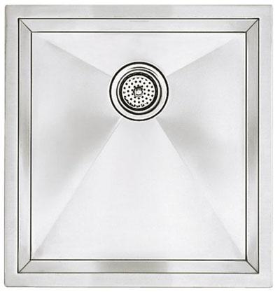 "Blanco Precision Undermount 16"" R10 Medium Single Bowl Sink"