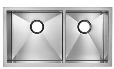 Blanco Precision MicroEdge Inset/Flushmount 1-3/4 Double Bowl Sink