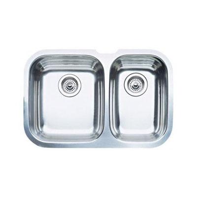 "Blanco Niagra Undermount 27-1/2"" Double Bowl Sink"