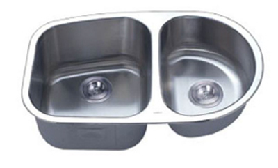 C-Tech-I Linea Imperiale Capraia LI-200-S Double Bowl Stainless Steel Sink