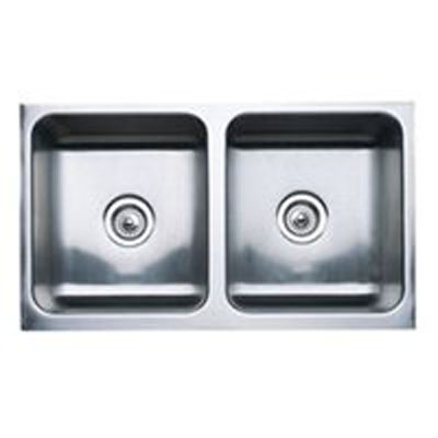 """Blanco Magnum Undermount 32"""" Equal Double Bowl Sink With Apron"""