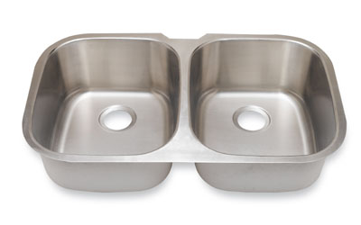 Suneli SM504 Undermount Double Bowl Stainless Steel Sink