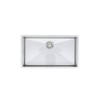 "Blanco Precision Undermount Super Single Bowl 16"" R10 Sink"