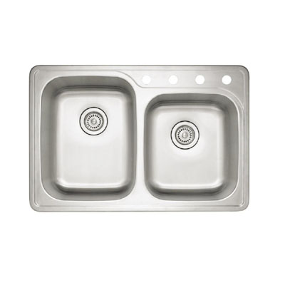 Blanco Spex Ii 1 3 4 Quot Drop In Double Bowl Sink Stainless