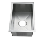 C-Tech-I Linea Amano Zancona LI-2400 Single Bowl Stainless Steel Sink