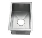 C-Tech-I Linea Amano Zancona LI-2400 Single Bowl Stainless Steel Sink
