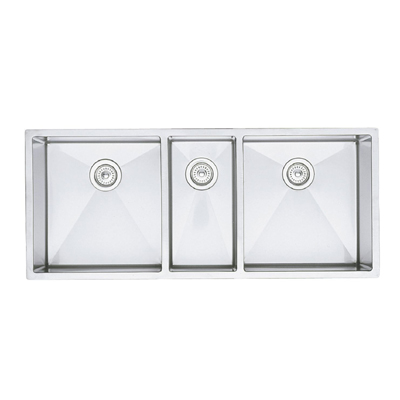 Triple Bowl Kitchen Sinks Blanco precision undermount 16 r10 triple bowl sink stainless blanco precision undermount 16 r10 triple bowl sink workwithnaturefo