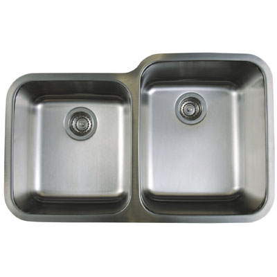 Blanco Stellar Undermount 1-3/4 Reverse Double Bowl Sink