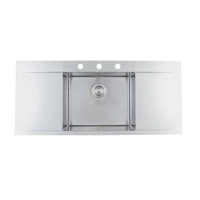 Blanco Flow Inset/Flushmount MicroEdge 3 Hole Sink