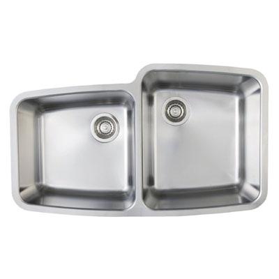 Blanco Performa MicroEdge 1-3/4 Medium Reverse Bowl Inset/Flushmount Sink