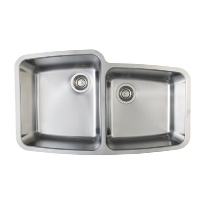 Blanco Performa MicroEdge 1-3/4 Medium Bowl Inset/Flushmount Sink